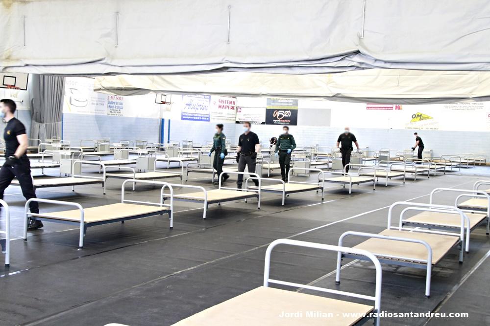 Poliesportiu SAB hospital de campanya 02