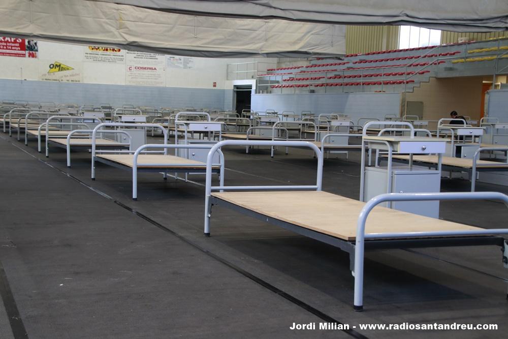 Poliesportiu SAB hospital de campanya 03