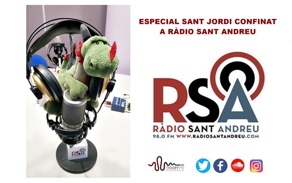 ESPECIAL SANT JORDI RÀDIO SANT ANDREU