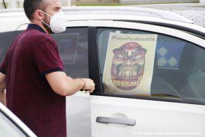 Mobilitzacions NISSAN marxa lenta - 03