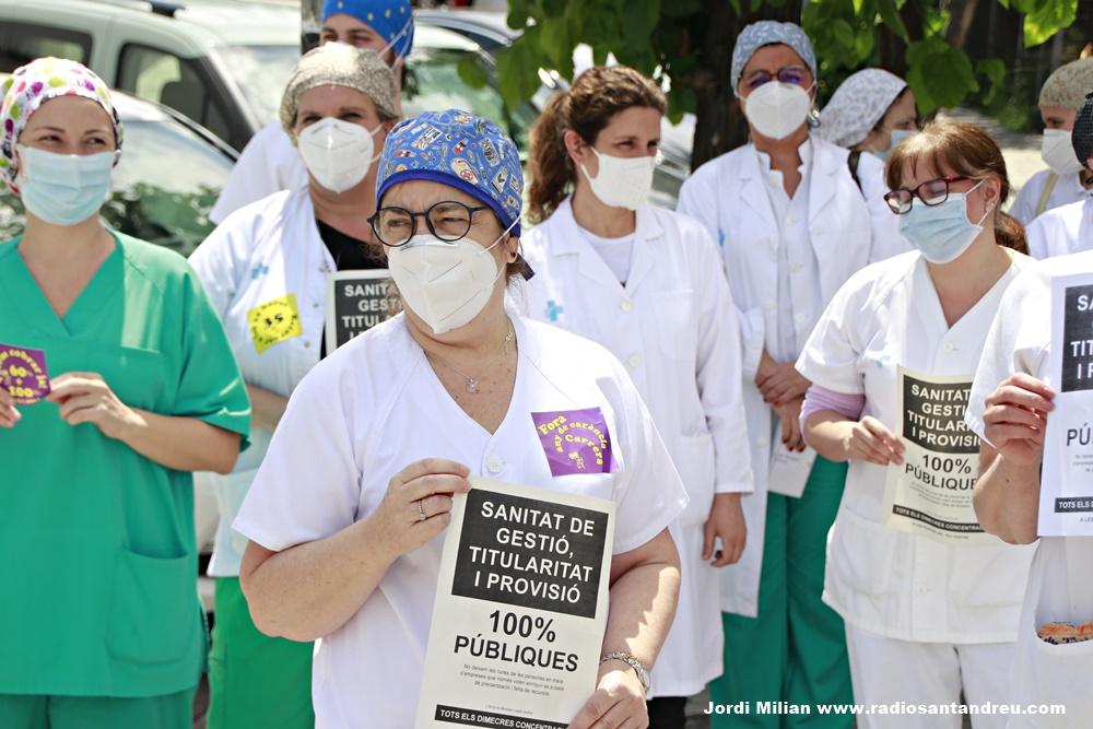 Personal sanitari reclama millores laborals SAB - 01