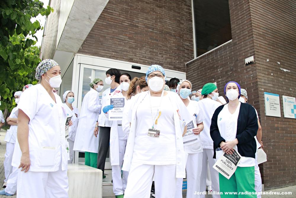 Personal sanitari reclama millores laborals SAB - 02