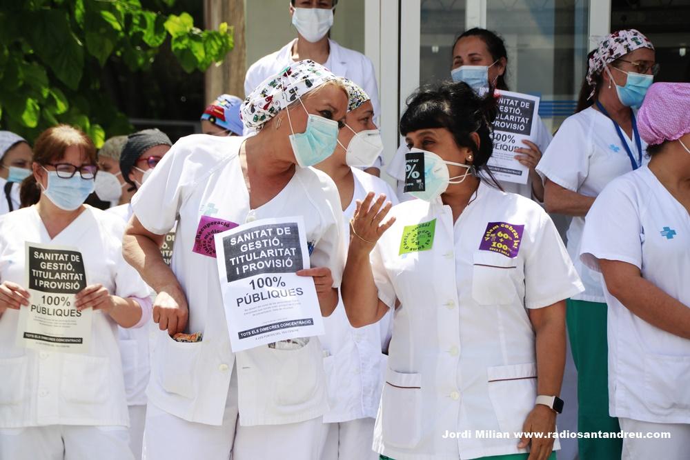Personal sanitari reclama millores laborals SAB - 03