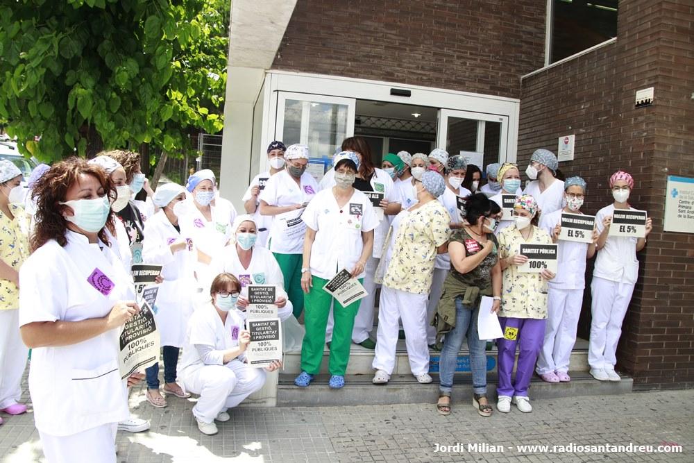 Reivindicacions personal sanitari SAB - 01