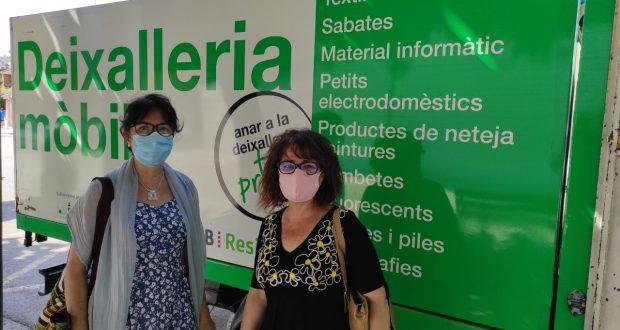 Rosa Asencio i Maite Navas - Medi Ambient