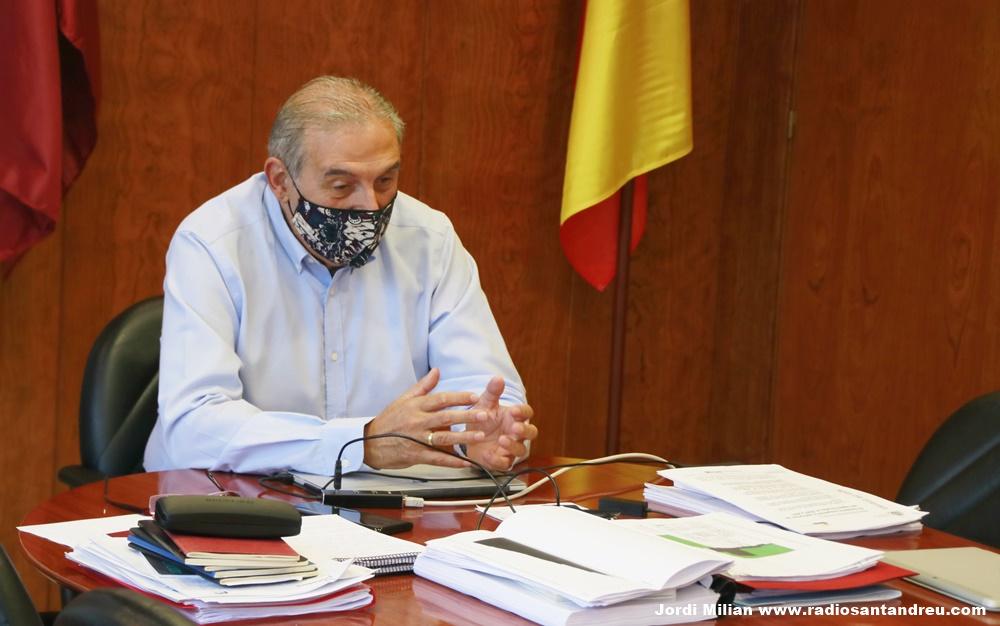 Enric Llorca alcalde Sant Andreu Barca