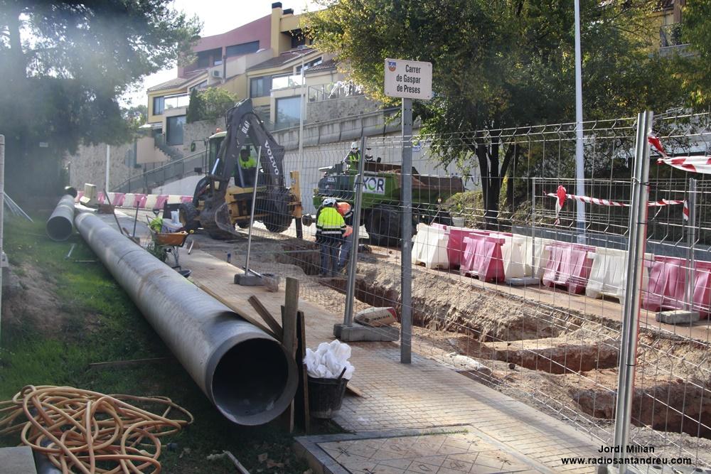 Obres nou dipòsit aigua oct 2020 - 07