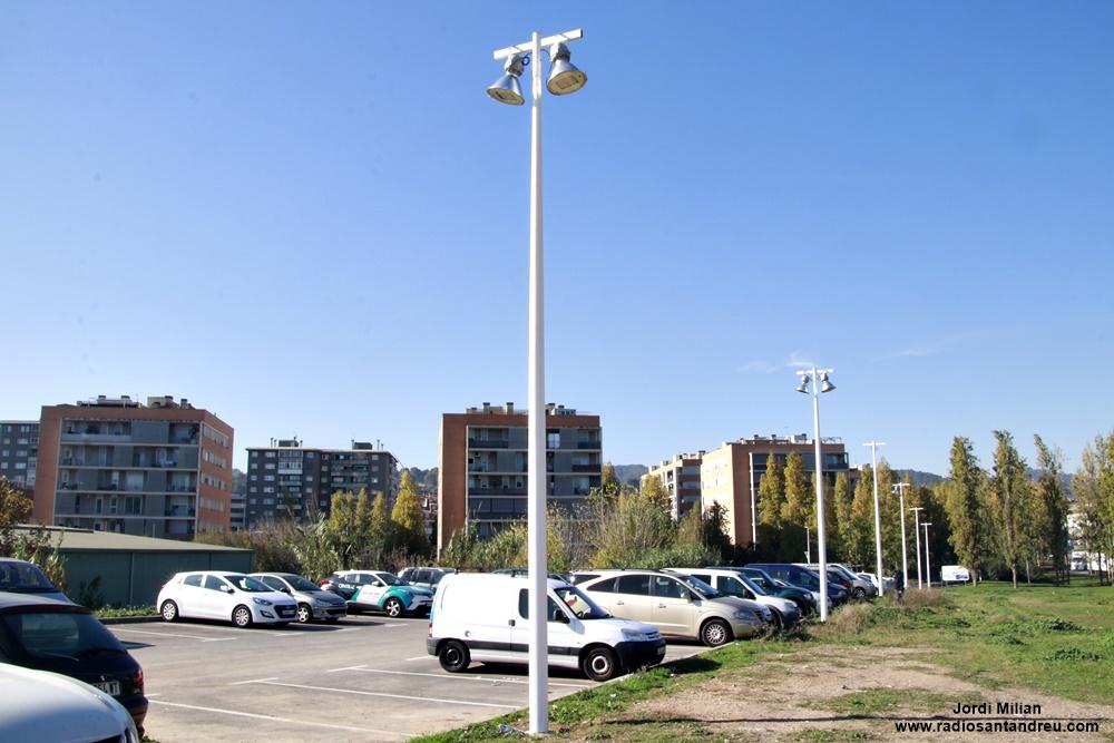 Il·lumicació aparcamen Josep Pla 04