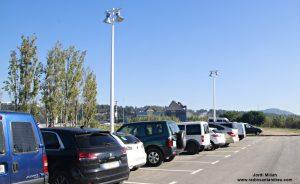 Il·lumicació aparcament Josep Pla 05