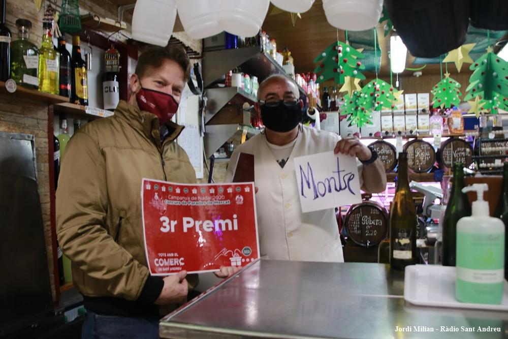 PREMIS APARADDORS I PARADES - 3 PREMI PARADES LA BODEGUETA DEL MERCAT 01
