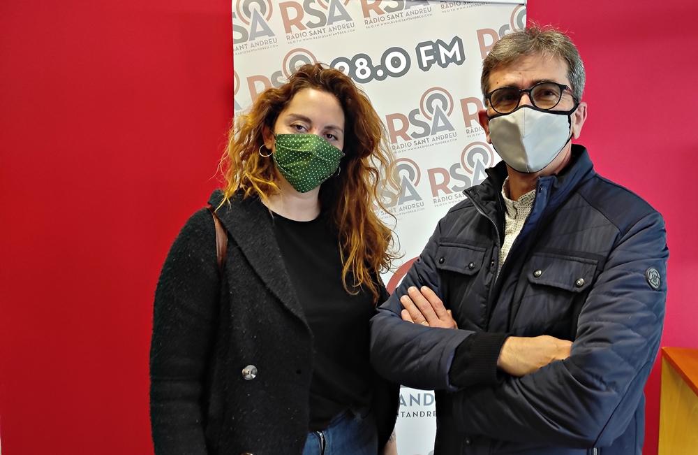 Aina Molins i Frederic Cardús
