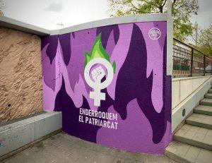 Mural feminisme Agrupació de Joves 02