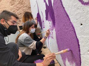 Mural feminisme Agrupació de Joves 03