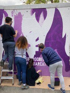 Mural feminisme Agrupació de Joves 04