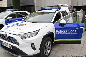 Policia Local vehicles híbrids  07