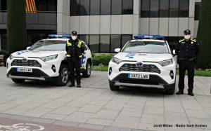 Policia Local vehicles híbrids  11