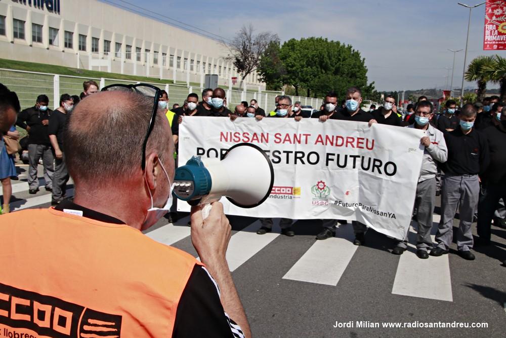 Mobilitzacií NISSAN Sant Andreu Barca març 2021 - 01