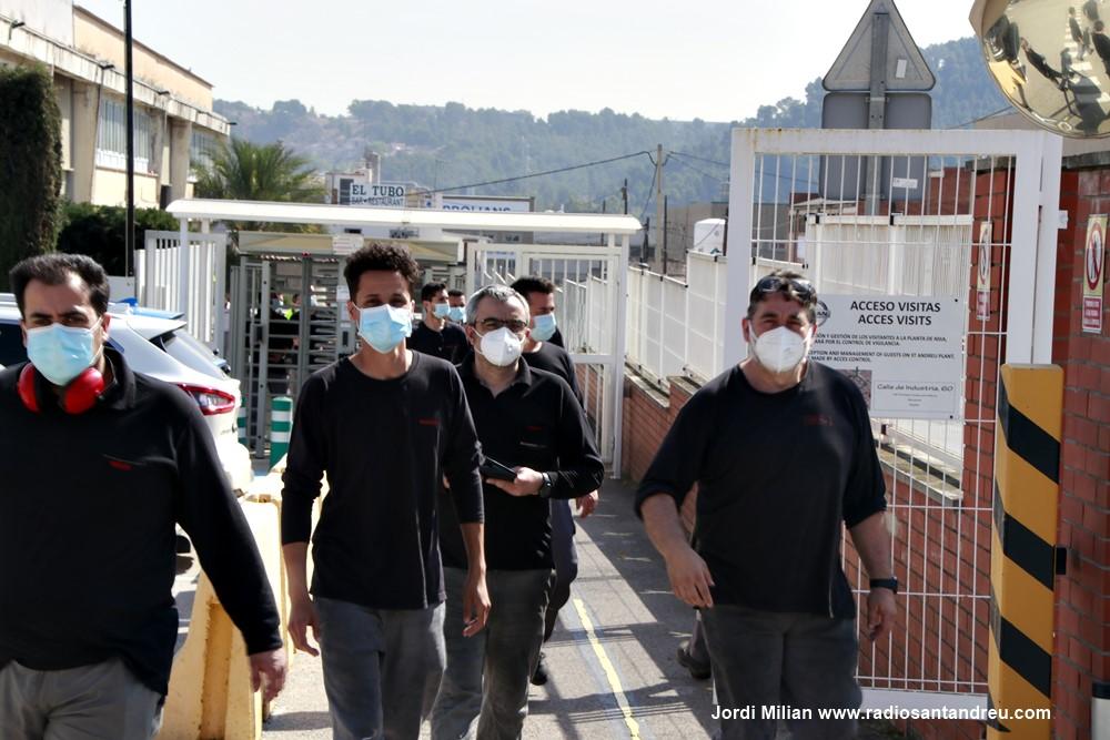 Mobilitzacií NISSAN Sant Andreu Barca març 2021 - 08