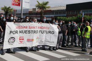 Mobilització NISSAN  Sant Andreu Barca març 2021 - 10