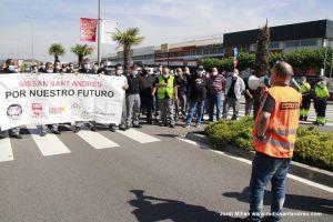 Mobilització NISSAN  Sant Andreu Barca març 2021 - 11