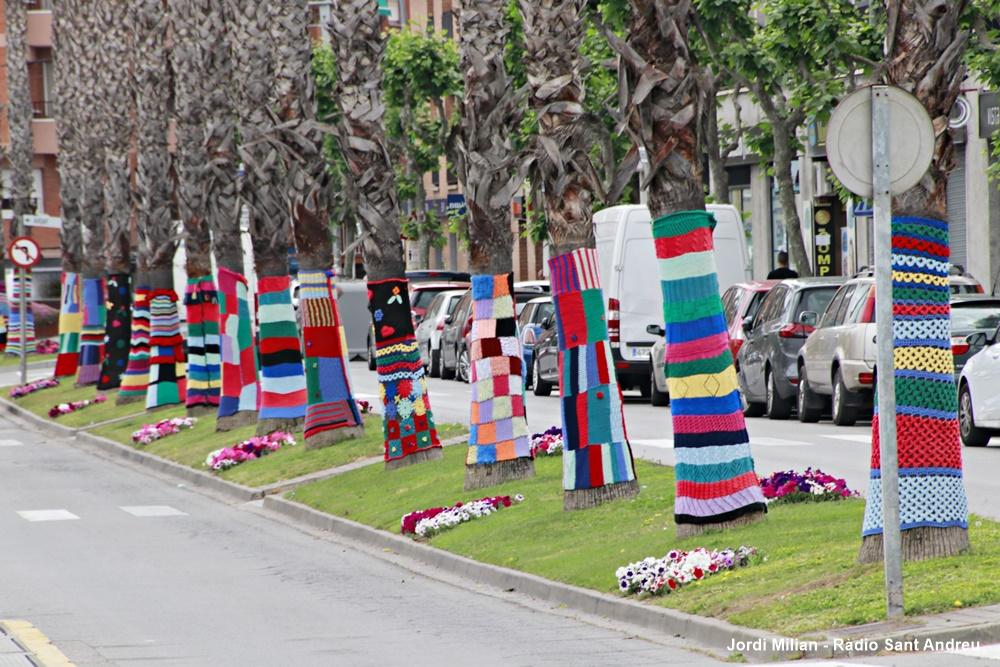 Projecte vestir palmeres avinguda Constitució