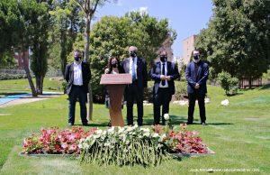ACte homenatge víctimes Covid-19  Portaveus