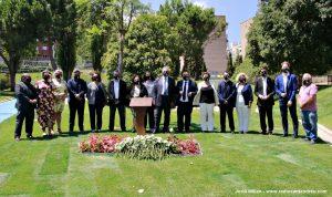 ACte homenatge víctimes Covid-19 Regidors