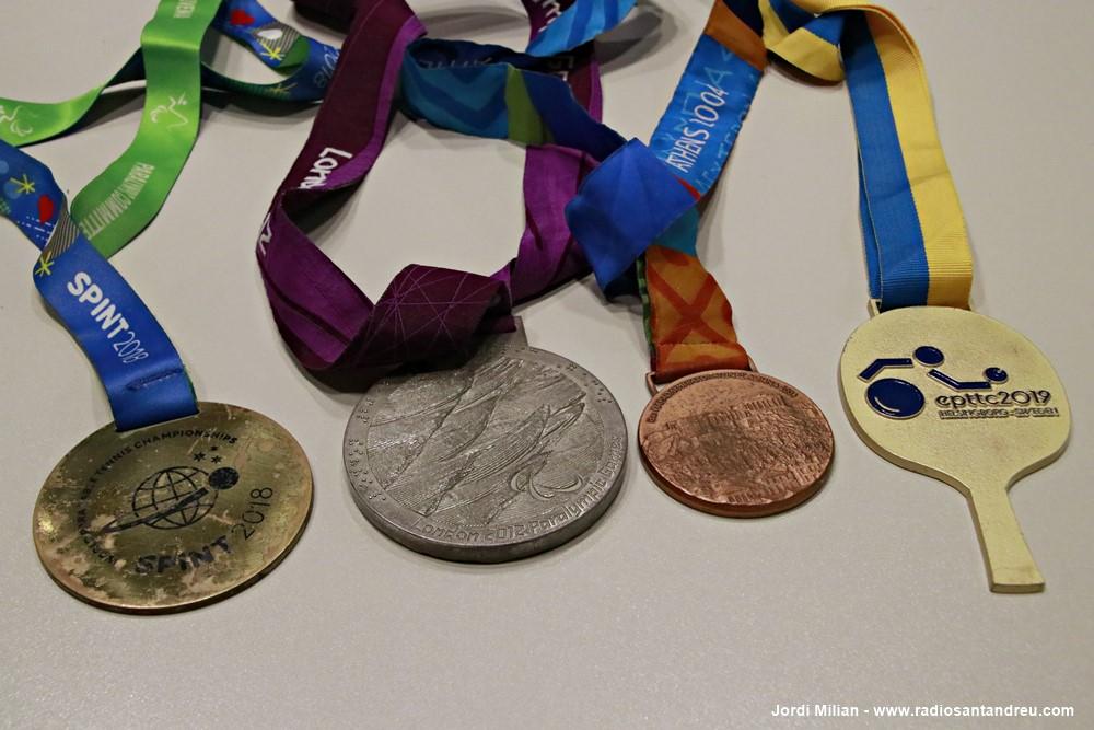 Jordi Morales -Tennis Taula paralímpic  2