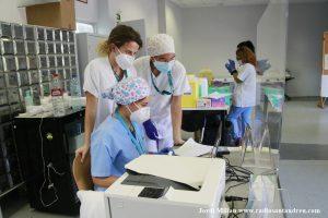 Marató vacunació Covid19 a SAB - 19