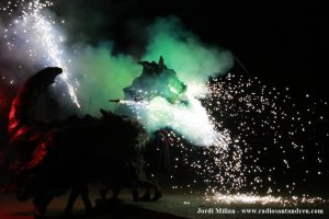 FESTA MAJOR 2021- Espectacle Diables SAB 02