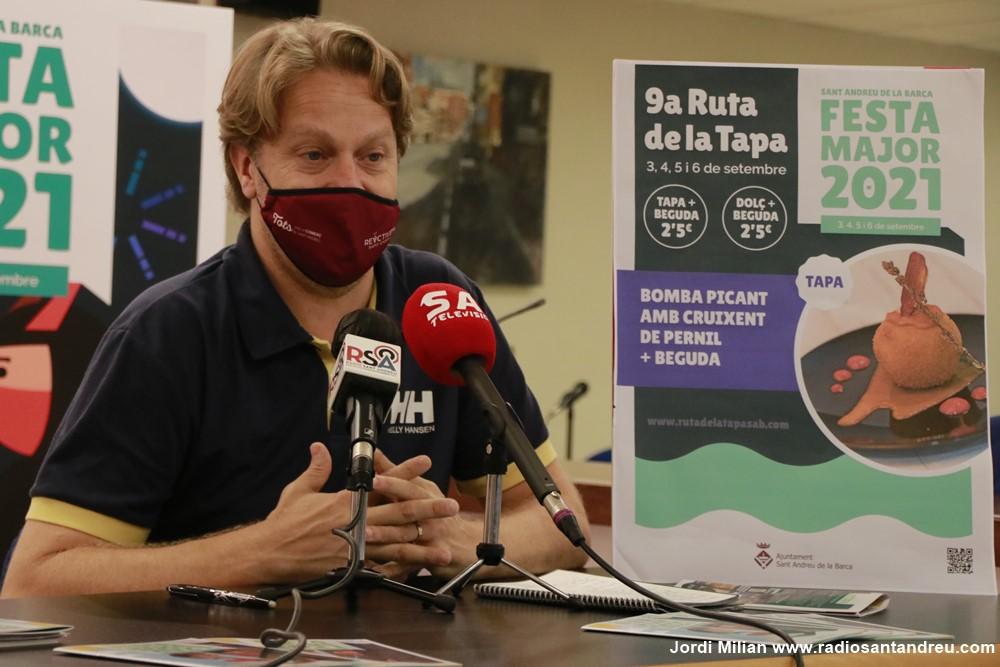 Juan Pérez regidor Promoció Econòmica