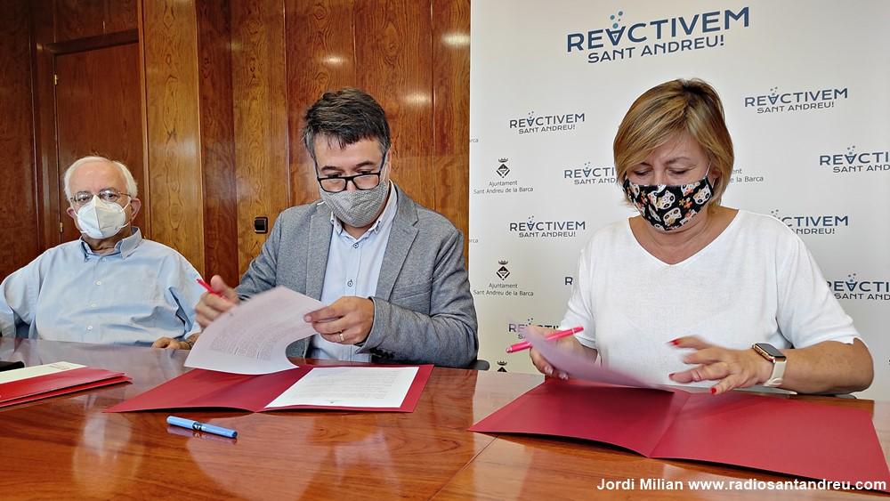 Renovat conveni Ajuntament i Càritas 01
