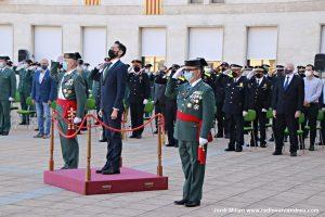 Acte ceebració patrona Guardia Civil Sant Andreu 01