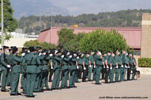 Acte ceebració patrona Guardia Civil Sant Andreu 15