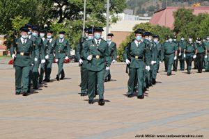 Acte ceebració patrona Guardia Civil Sant Andreu 20