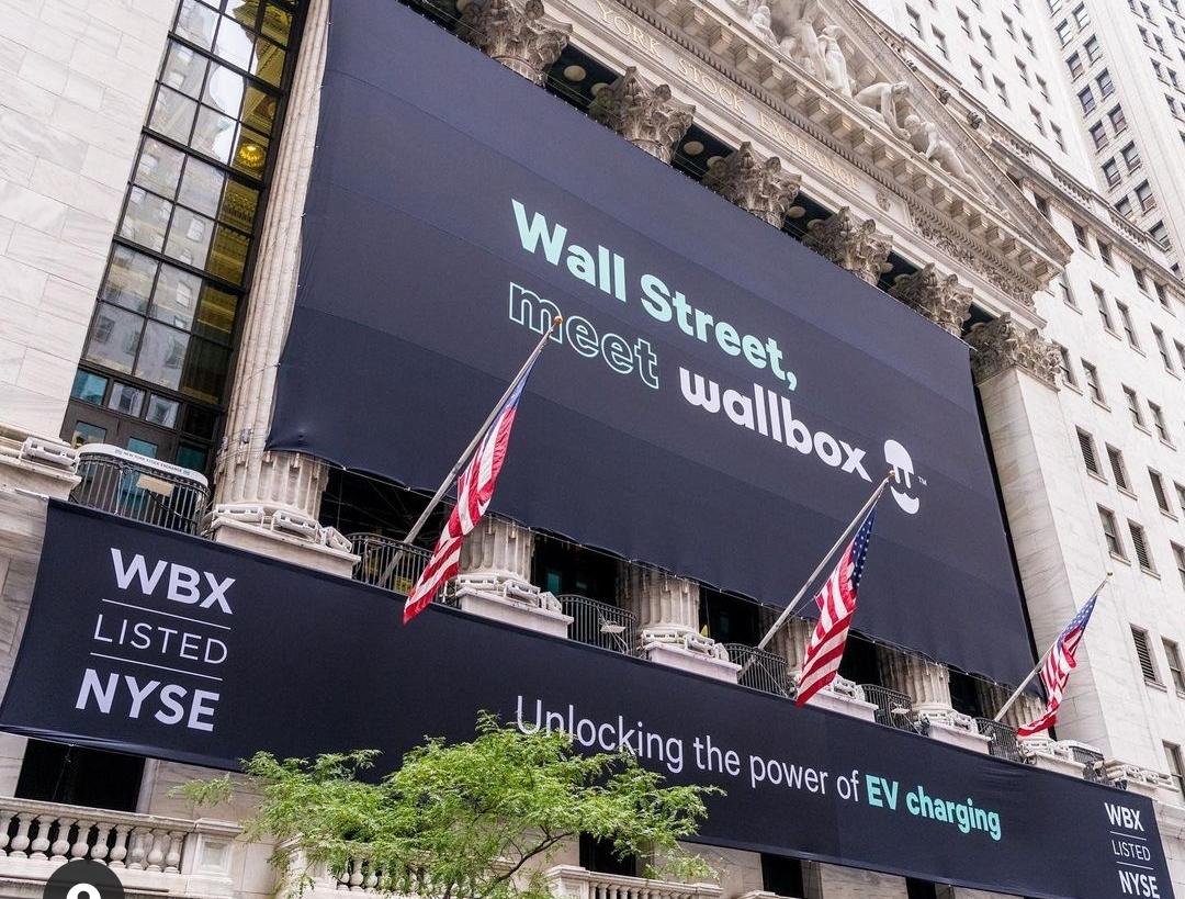 Wallbox Borsa Nova York